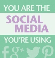 You are the social media you're using | World of #SEO, #SMM, #ContentMarketing, #DigitalMarketing | Scoop.it