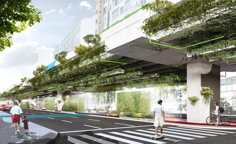 Hanging highway garden in São Paulo would filter 20% of car emissions | Societal Resilience, Mobility, Living, Logistics, Infrastructure | Scoop.it