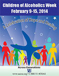 February: Children of Alcoholics Week | Together For Resilient Youth: Health Observance Calendar | Scoop.it
