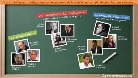 """Les 10 """"gourous"""" de la com' les plus influents en France ? A voir...   PuB   Scoop.it"""