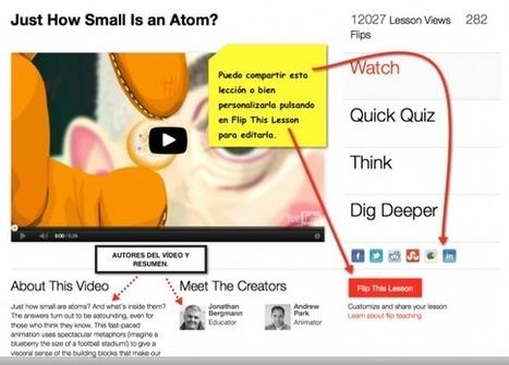 Mira, piensa, profundiza y crea tu lección en TED-Ed | Nuevas tecnologías aplicadas a la educación | Educa con TIC | La biblioteca de Alejandría está en la Red | Scoop.it