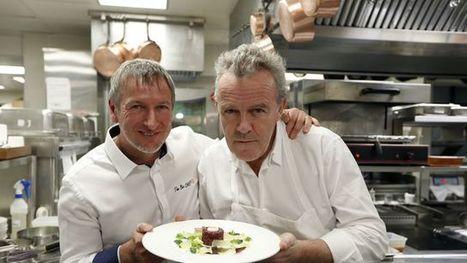 Repas multi-étoilés à quatre mains: concentré de talents, subtile pointe de compétition | Gastronomie Française 2.0 | Scoop.it