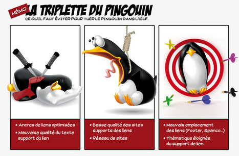 La triplette du Pingouin | baume référencement | SEO | PureSEO | Scoop.it
