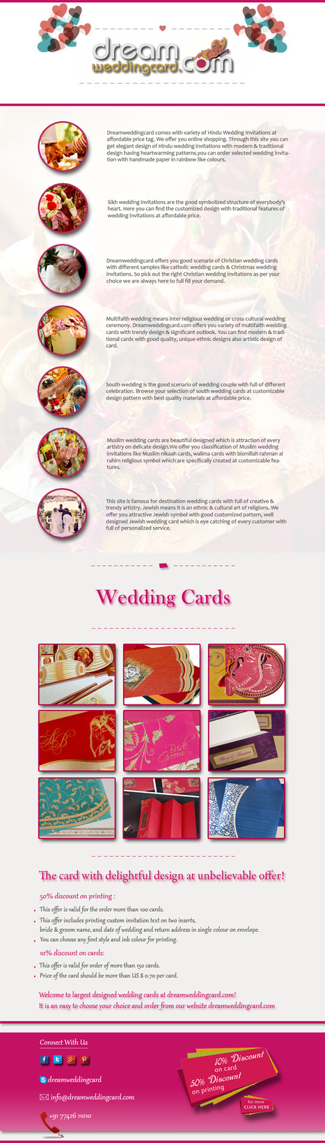Dream Wedding Card presents latest and unique collection of religious invitation cards | Designer Wedding Cards | Scoop.it
