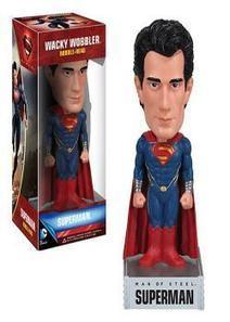 #Funko - DC Universe #Superman Man of Steel Wacky Wobbler | VIDEO GAMES | Scoop.it