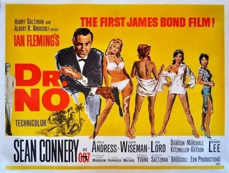 "BACK 2 CLASSICS : ""JAMES BOND 007 CONTRE DR. NO"" (1962 ... 