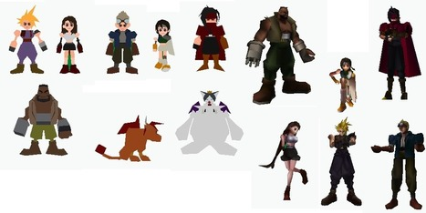 Impression 3D : les persos de Final Fantasy VII retirés de Shapeways - Numerama | Final Fantasy VII | Scoop.it