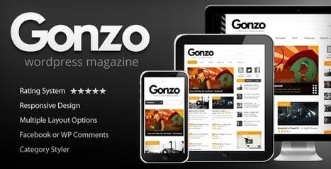 Gonzo Version 1.9.1 Wordpress Theme Nulled Crack Download | Free Download | Scoop.it