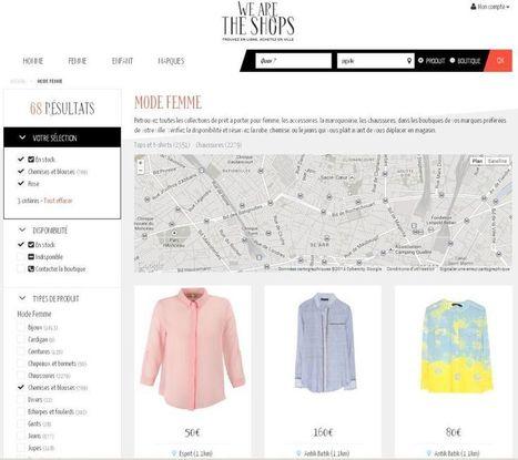 We Are The Shops, le service web-to-store dédié à la mode - Mon Client Digital | Web to Store & Fashion | Scoop.it