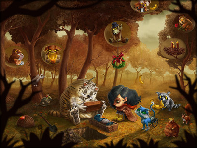 Amelia and Terror of The Night Interactive Graphic Storybook | Best iPhone Apps and iPad Apps | Scoop.it