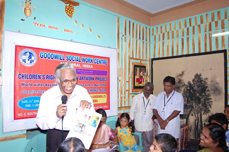 GoodwillSWC's winners of World water day International post contest for children 2008 organised by Nature's Voice-Our Choice,USA | Introducing Goodwill Social Work Centre,Madurai,India-Inviting Partnership Initiative! | Scoop.it