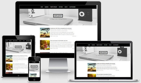 BTemplates: Argent Blogger Template | Blogger themes | Scoop.it
