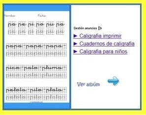 Recursos para mejorar la caligrafía en Infantil y Primaria - Educación 3.0 | UTN Virtual Mendoza | Scoop.it