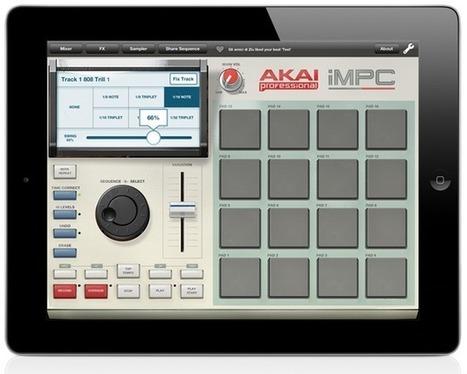 Gearjunkies.com: Akai iMPC -  MPC on your iPad   DJing   Scoop.it
