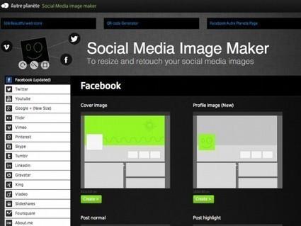 Comment ajuster parfaitement TOUTES les images de vos réseaux sociaux   Autour du Web   Outils - articles sur les réseaux sociaux   Scoop.it