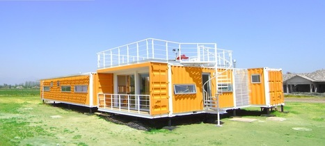 Bright Cargo Container Casa in Chile - Jetson Green | Container Architecture | Scoop.it