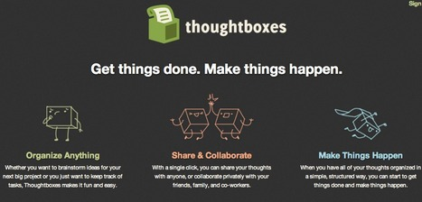 Thoughtboxes | Collaborative Tools (Students Working together online) | Scoop.it