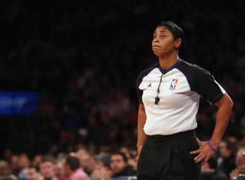 NBA's Only Female Referee Discusses Her Experience [VIDEO] | Basketball | Scoop.it