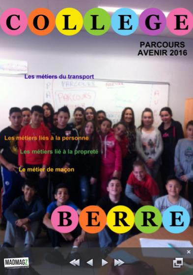 PARCOURS AVENIR - Collège Fernand Léger à Berre l'Etang | Pédagogie & Numérique | Scoop.it