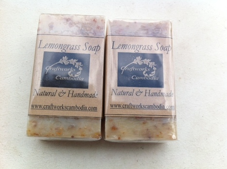 Fair trade Cambodia. Natural Lemongrass handmade Soaps, ethically handmade by disadvantaged home based workers.   Handmade Cambodia   Scoop.it