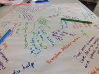 Chalk Talk…A Conversation on Paper « smwhreinbetween | Cultures of Thinking | Scoop.it