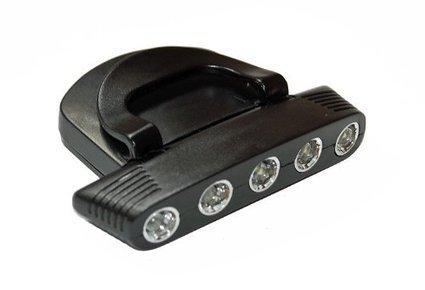 (1)   5 LED Cap Light Kopflampe Stirnlampe für Mützen NEU-Verstellbare Beleuchtungswinkel | Stirnlampen  Günstige | Scoop.it