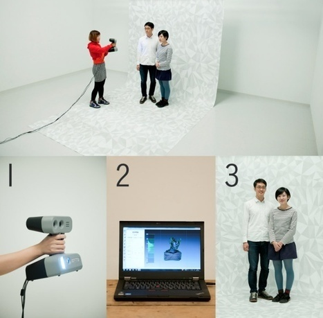 3ders.org - World's first 3D printing photo booth to open in Japan | 3D Printing news | Big and Open Data, FabLab, Internet of things | Scoop.it