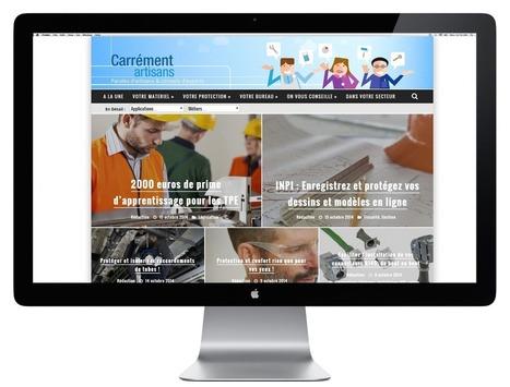 3M lance un webzine à destination des artisans ! | Marketing et Communication Corporate & BtoB | Influence | Scoop.it