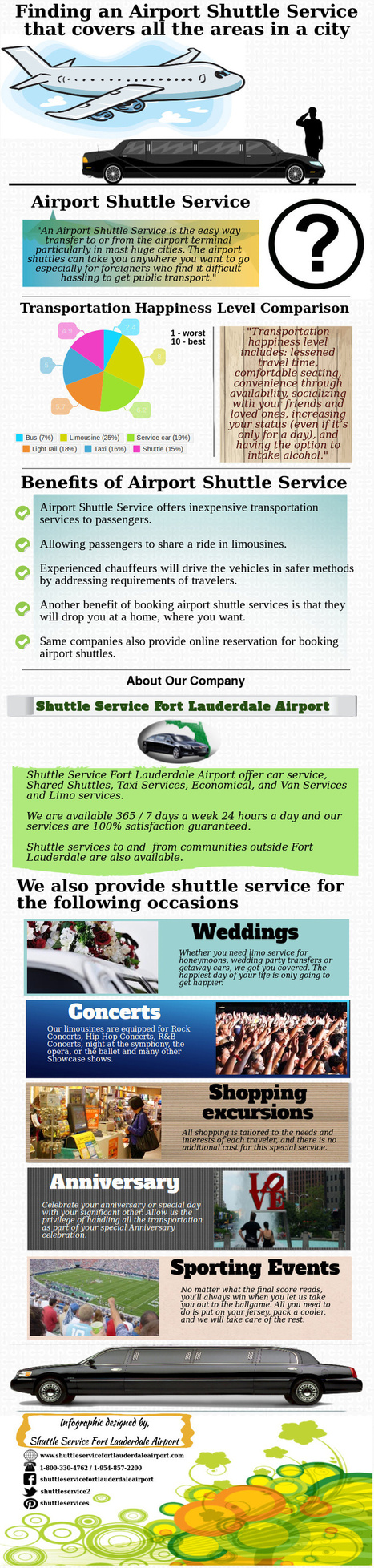Finding an Airport Shuttle Service that covers all the areas in a city   shuttleservicefortlauderdaleairport   Scoop.it