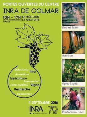 Journée portes ouvertes du centre Inra de Colmar | Winemak-in | Scoop.it