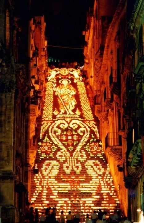 Scala di Santa Maria del Monte – Probably the World's Most Beautifully Decorated Staircase | Strange days indeed... | Scoop.it