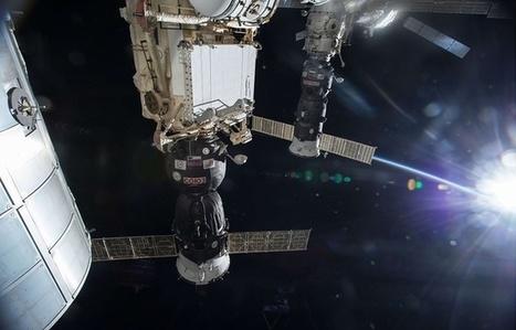 Espace : Un vaisseau russe réussit à changer l'orbite de la Station spatiale | The Blog's Revue by OlivierSC | Scoop.it