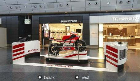 Passengers enjoy Ducati Days at Zürich Airport | TheMoodieReport.com | Ductalk | Scoop.it