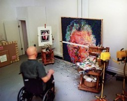 Chuck Close on Creativity, Work Ethic, and Problem-Solving vs. Problem-Creating | Collaborative innovation | Scoop.it