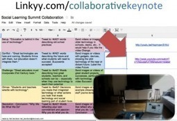 The First Truly Collaborative, Impromptu, Online Social Keynote in ... | Collaboration in teaching and learning | Scoop.it