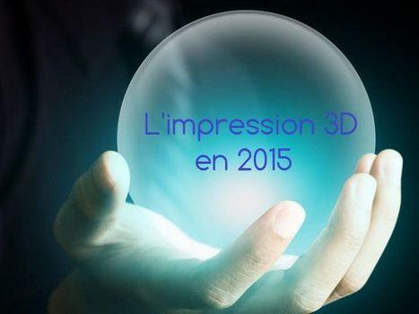 Impression 3D : 7 prédictions pour 2015 par additiverse.com - Additiverse.com | 3D Printing -Addditive Mfg | Scoop.it
