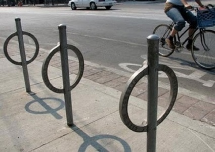 NYC Parking Meters Transformed Into Bike Parking - DesignTAXI.com | Ethical Design | Scoop.it