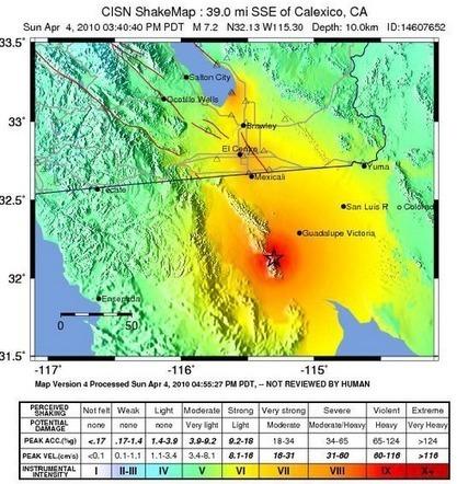 Mapa Láser 3D Anterior y Posterior a un Terremoto   geoinformação   Scoop.it
