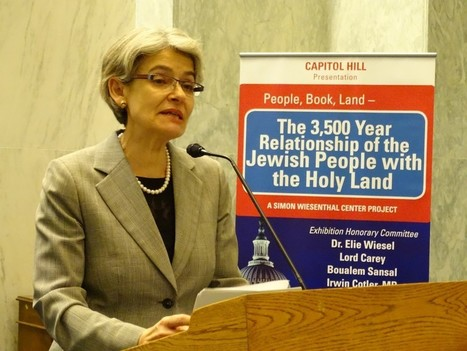 History of Jewish ties to Holy Land front and center in Capitol Hill exhibition | Washington Jewish Week | Jewish Life Today | Scoop.it