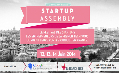 Startup assembly, le festival des startups françaises | FrenchWeb.fr | Mes Actus | Scoop.it
