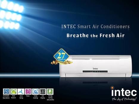 How AC Manufacturing in India is Flourishing? - Intec Blog | Intec Home Appliances | Scoop.it