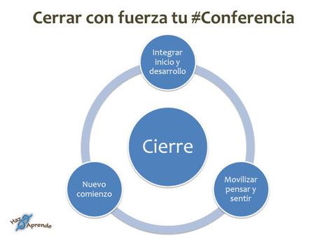 Cómo cerrar con fuerza tu #conferencia | Conferencistas | Scoop.it