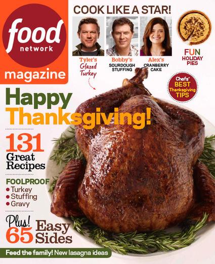 Get, Read, Simple: Food Network Magazine - November 2013 | freepubtopia | Scoop.it