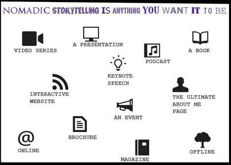 The Definitive Post on Nomadic Storytelling | TURNDOG | Scoop.it