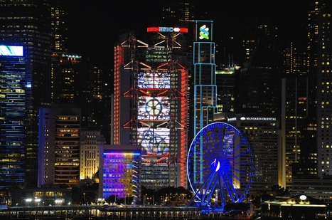 From Productivism to Scenography: The Relighting of Norman Foster's Hongkong and Shanghai Bank | The Architecture of the City | Scoop.it