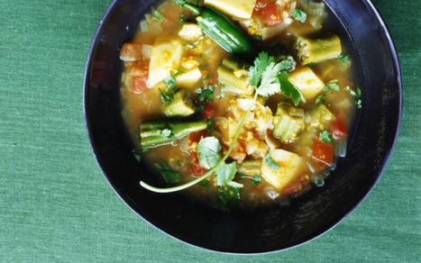 Seasoned Lentil Stew with Vegetables (Sambar): Recipes + Menus : gourmet.com | Food Zone | Scoop.it