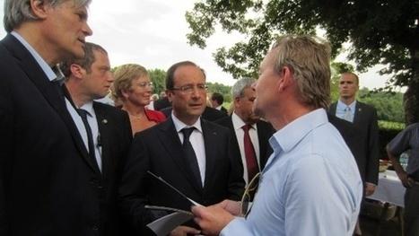 Le président de la République visite une unité de méthanisation en Dordogne - Web-agri.fr | Agriculture en Dordogne | Scoop.it