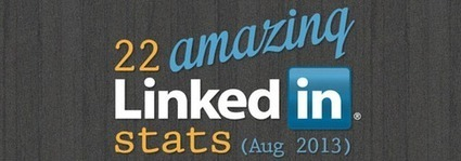 Linkedin By The Numbers: 17 Amazing Linkedin Stats (Infographic) - Business 2 Community | LINKEDIN TIPS & TRICKS | Scoop.it