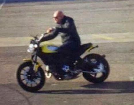 Ducati Scrambler - Another Spy Picture | Desmopro News | Scoop.it