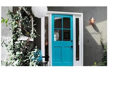 Inšpirácia: Viete, akú farbu by mali mať vaše vchodové dvere? | domov.kormidlo.sk | Scoop.it